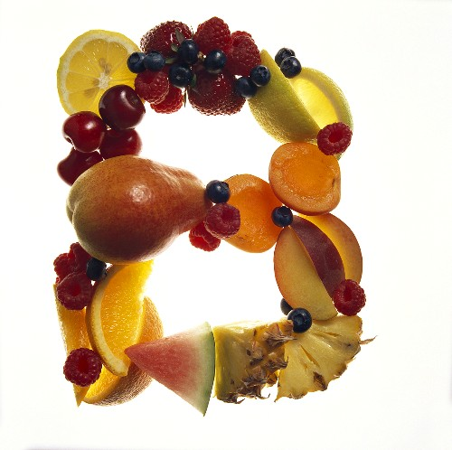 Fruit Forming the Letter B