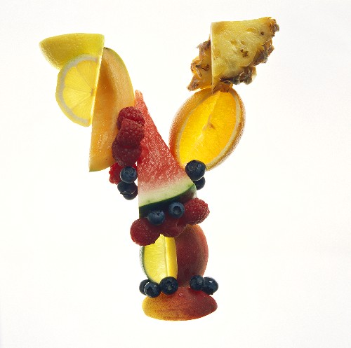 Fruit Forming the Letter Y