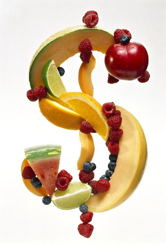 Fruit Punctuation; A Dollar Sign