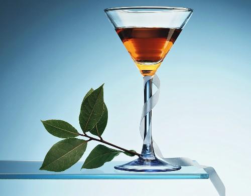 Adonis in aperitif glass