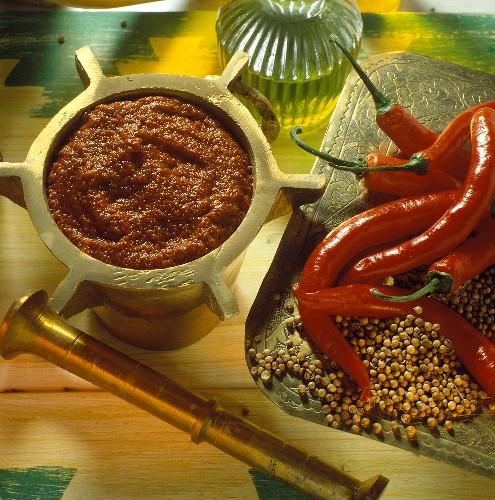 Harissa (spicy Arabian paste)