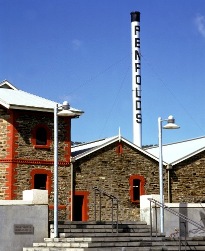 Buildings of Penfold's Winery, Adelaide Hills, S. Australia