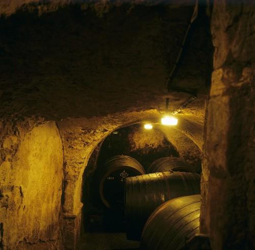 Weinkeller im Castel Sallegg, Kaltern, Südtirol