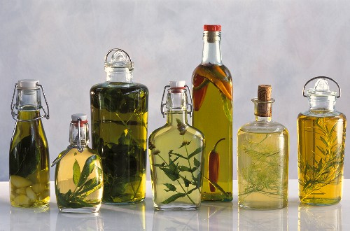 Assorted Flavored Oils and Vinegars