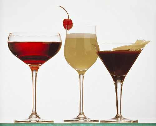 Cherry Flower, Quitte Sour, Cocktail After Eight