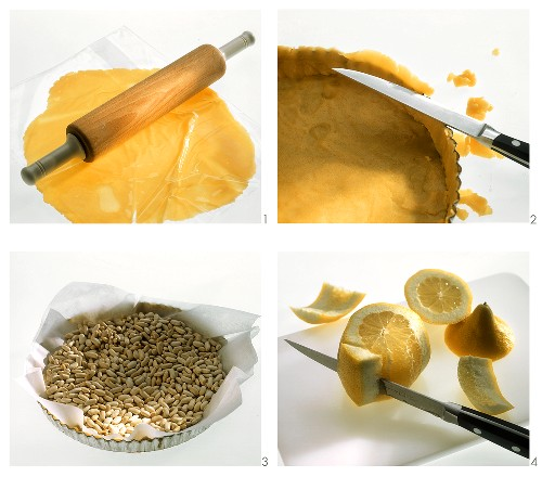 Making lemon tart with vanilla pastry - final recipe image 211086