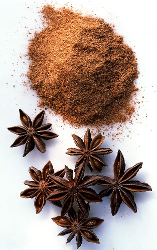 Star anise and ground star anise