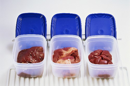 Keeping offal fresh in cool boxes