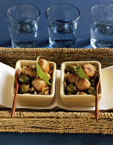 Polpettine alla catanese (Meatballs with vegetables)