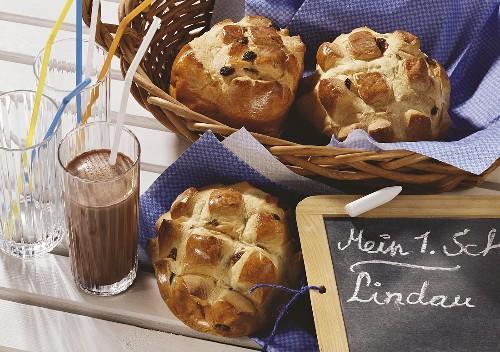 Lindauer Butschele (raisin buns) for first day at school