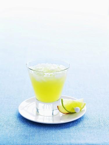 Apple Sour cocktail