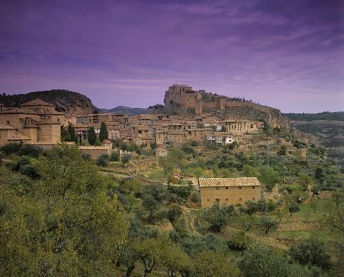 The village of Alquezar, Somontano, Spain