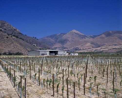 Au Bon Climat Winery, Santa Maria Valley, Santa Barbara, CA