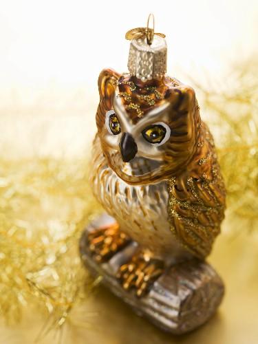 Christmas tree ornament (owl)