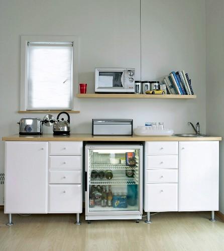A small kitchen