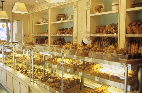 Boulangerie Kayser, French bakery, Moscow branch