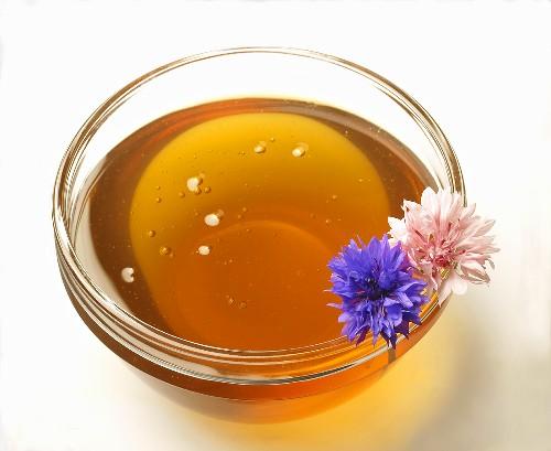 Honig im Schälchen