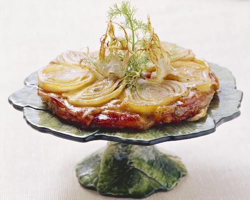 Torta caramellata al finocchio (Fennel Tarte Tatin)