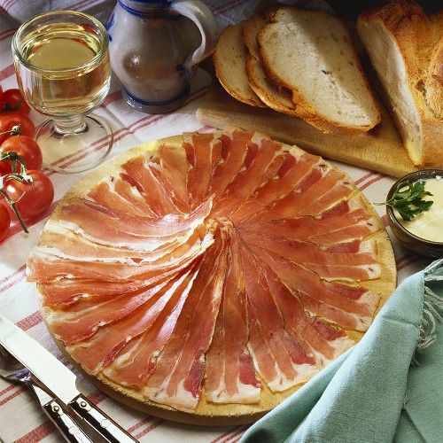 Ardennes ham (Speciality from Luxembourg and Belgium)