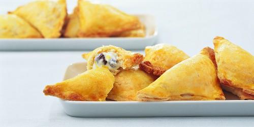 Small quark and raisin pasties