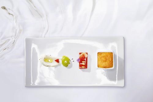 Textures of gazpacho (molecular gastronomy)