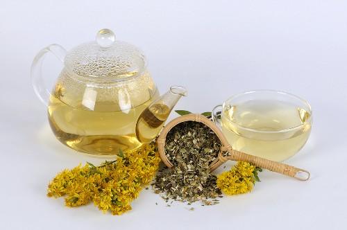 Golden rod tea