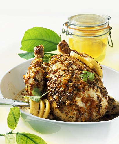 Lemon chicken, Morocco