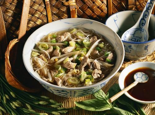 Hanoi beef soup (Vietnam)