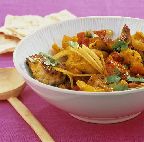 Jalfrezi (Meat curry, India)