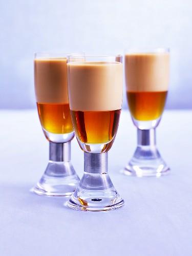 Drink made with maple syrup & Amarula Cream (cream liqueur)