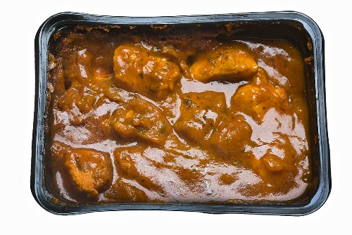 Jalfrezi (meat curry, India) for the microwave