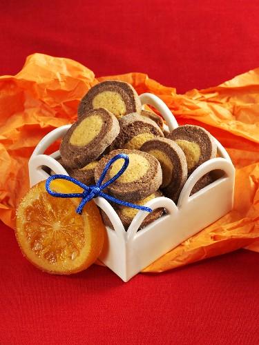Orangen-Schokoladen-Plätzchen