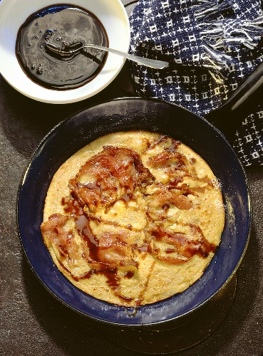 Gratins & Buckwheat Pancakes with Bacon