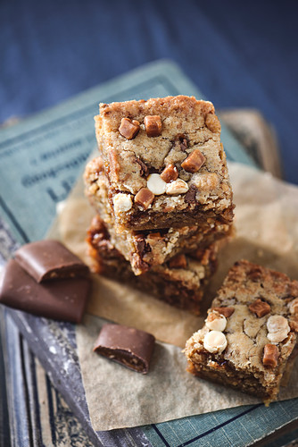 Daims cookie bars
