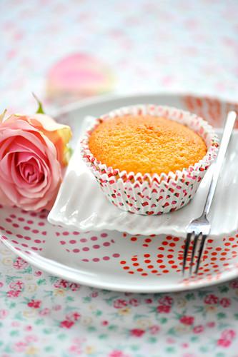 Orange blossom muffin