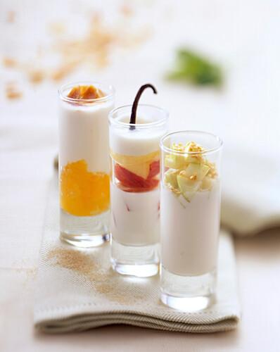yoghurt cocktails