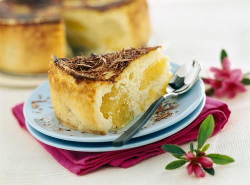 peach cheesecake (topic: summer)