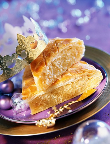 galette des rois flaky pastry and almond cake