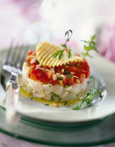 Sea bass with exotic seasonings