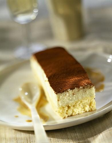 Amaretto biscuit and mascarpone Tiramisu-style dessert