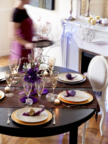 Party table presentation