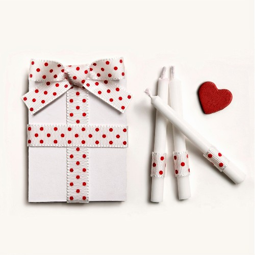 Present and candles