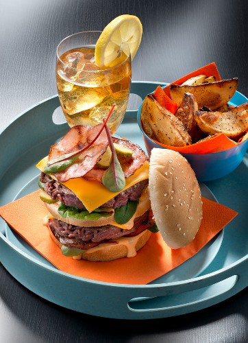 USA : Hamburger-potatoes