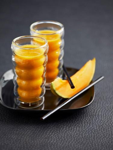Carrot-melon juice