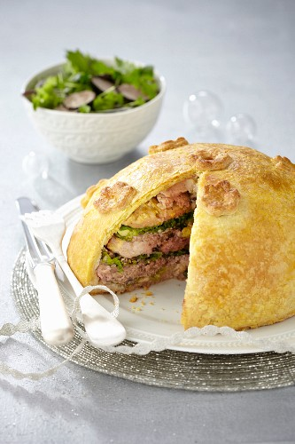Lamb pie by Georges Blanc