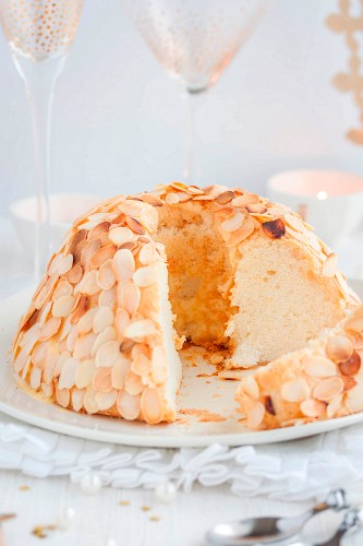 King's Angel cake