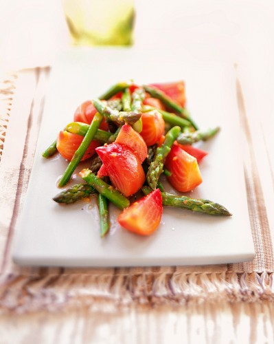 Asparagus and Beet Salad