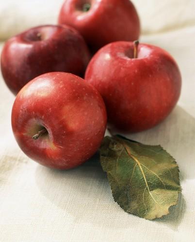Four Empire Apples