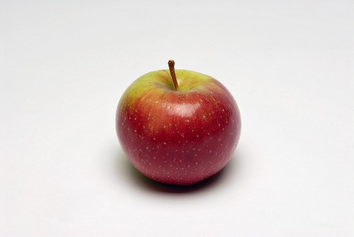 A red and green apple (variety: Baldwin)