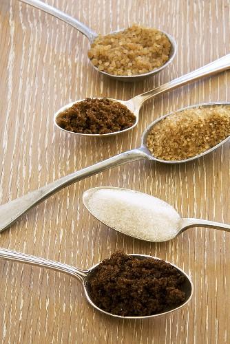 Spoonfuls of Various Sugars